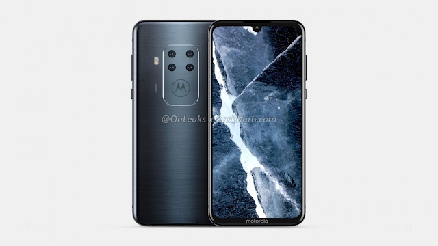 Leaked Motorola's First Smartphone with Four Cameras