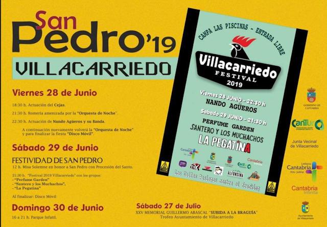Fiestas de San Pedro en Villacarriedo 2019