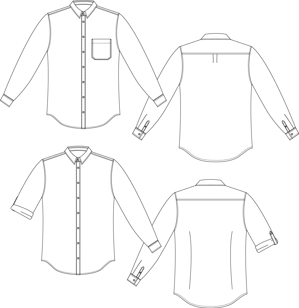 The Drapery Spring Tops Series The Fairfield Buttonup By Thread