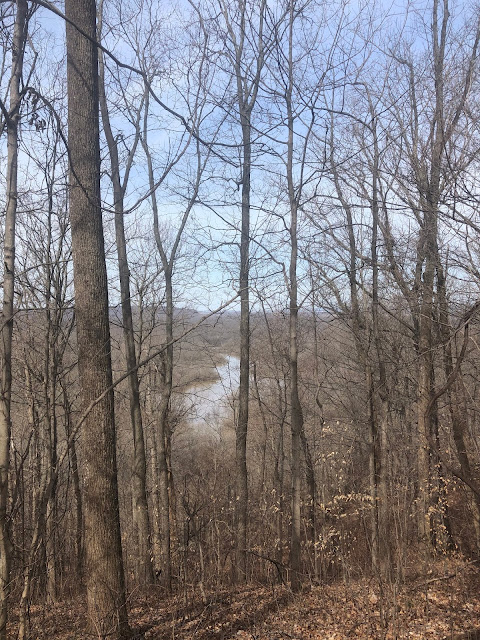 The Big Muddy emerges in the distance.