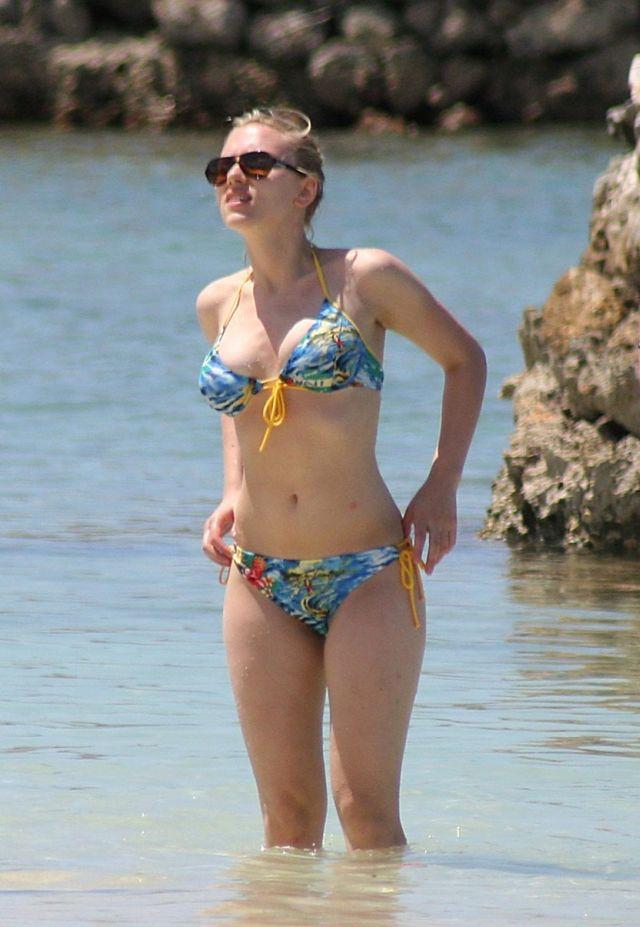 Bikini 49. Scarlett Johansson nudes (39 fotos) Sideboobs, Snapchat, cameltoe