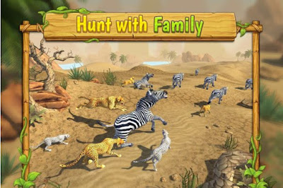 cheetah family sim mod apk download untuk HP android