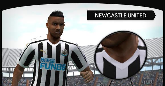 Newcastle United - PES2006 - Premier League