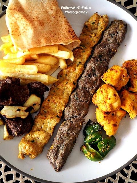 Kebab Halabi, Chicken Kebab