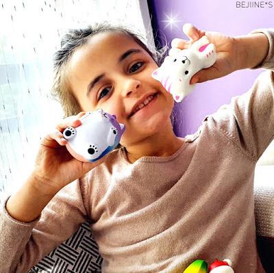 Blog PurpleRain Squishies anti-stress enfants kawaii