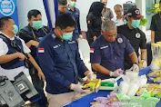 Badan Narkotika Nasional Provinsi Sumatera Selatan terus Kembangkan Penangkapan Kurir Narkoba Jaringan Riau