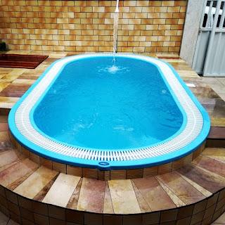 Fiber piscinas de fibra