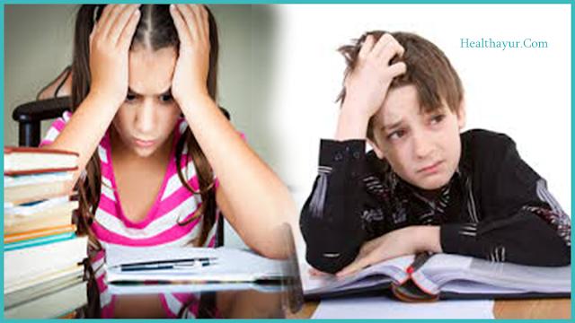 Stressed kids