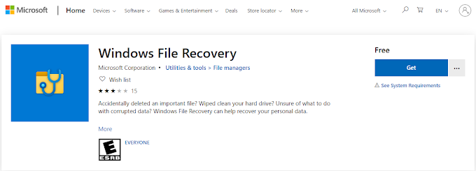 Microsoft launches Windows File Recovery application | Steps to recover or restore deleted data