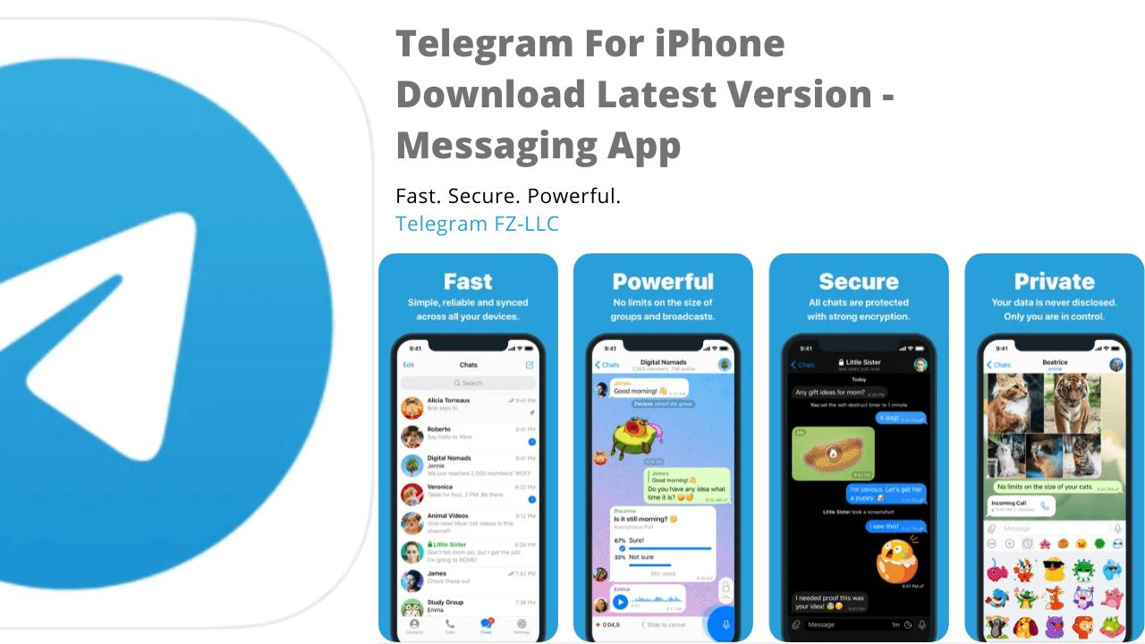 Telegram For iPhone Download Latest Version 8.0