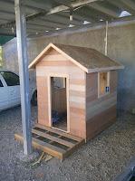 Casetas para perros hechas con palets reciclados
