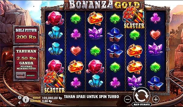 Main Slot Gratis Indonesia - Bonanza Gold (Pragmatic Play)