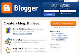 membuat blog, web, situs, saintifik
