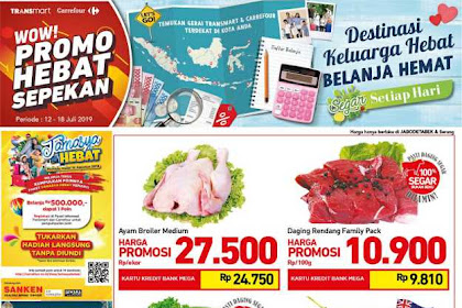Katalog Carrefour Promo Produk Fresh Weekend 19 - 25 Juli 2019