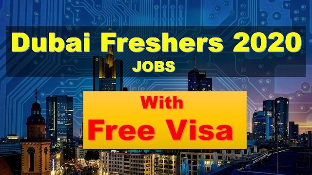 Fresher Jobs In UAE | Jobs In UAE For Fresher 2020 |