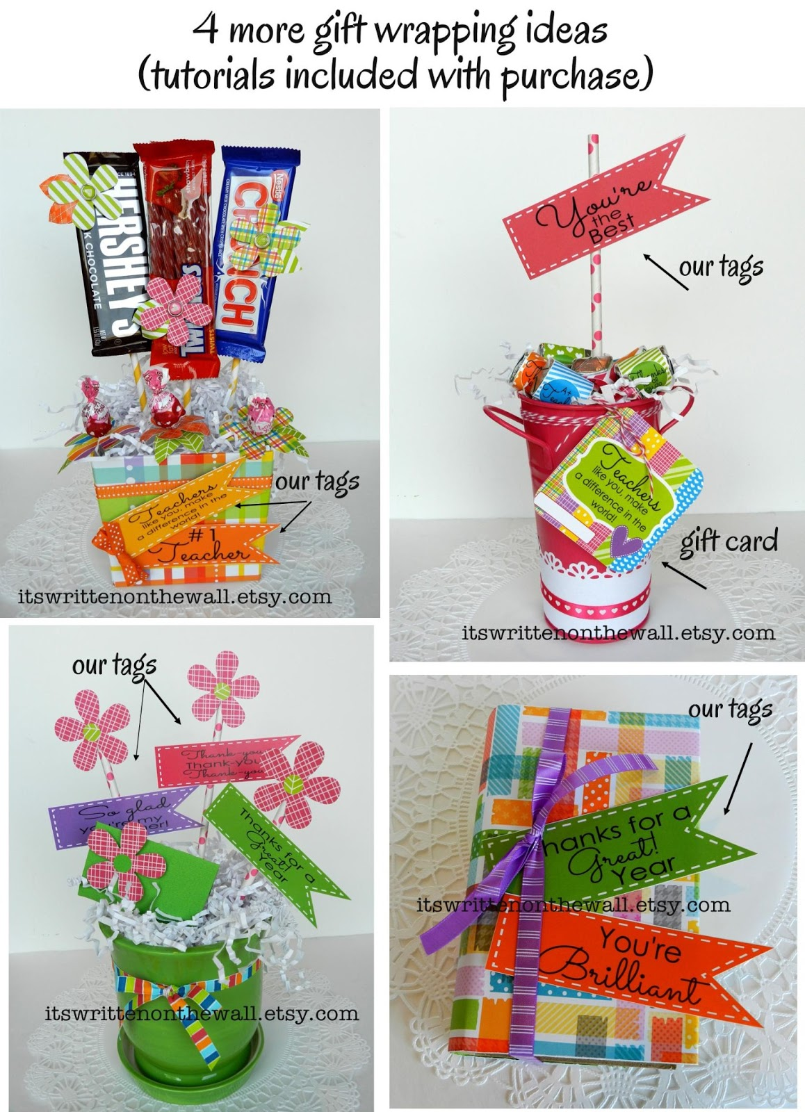It S Written On The Wall Teacher Appreciation Printables And Fun Packaging Ideas