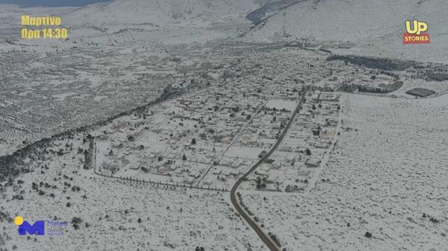 Μαρτίνο Φθιώτιδας: Το σαρωτικό πέρασμα της Μήδειας Up'ο ψηλά (βίντεο drone)