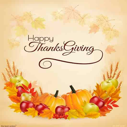 thanksgiving day wishes to manager