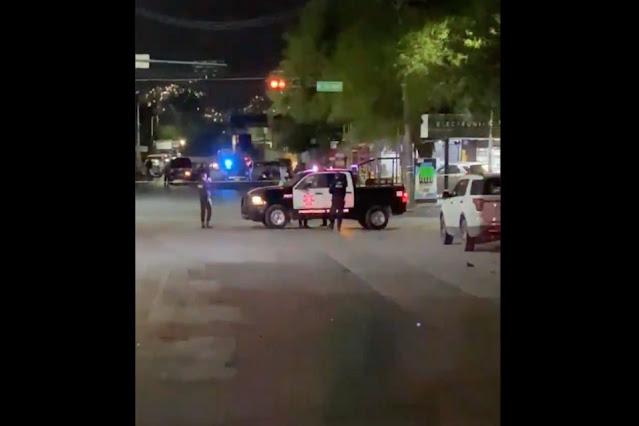 Video.- Sicarios matan con mas de 40 balazos a 5 y hieren a 3 más cera de a frontera