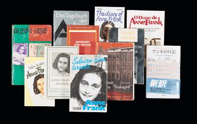 Anne Frank diário muitos idiomas