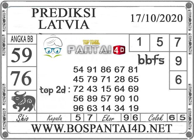 PREDIKSI TOGEL LATVIA PANTAI4D 17 OKTOBER 2020