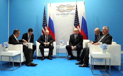 Meeting with US President Donald Trump.