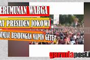 Viral Video Kerumunan Warga Saat Jokowi Tinjau Bendungan Napun Gete