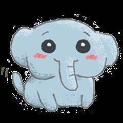 Just a little elephant