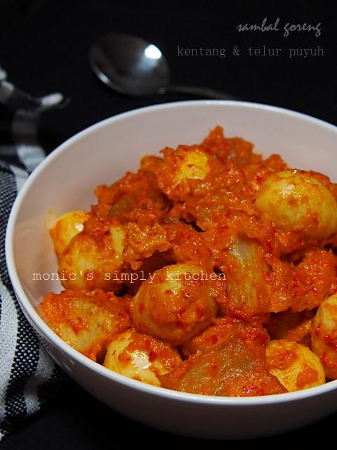 resep sambal goreng kentang telur puyuh