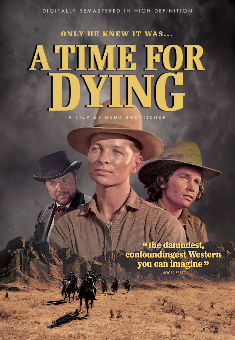 a time for dying poster