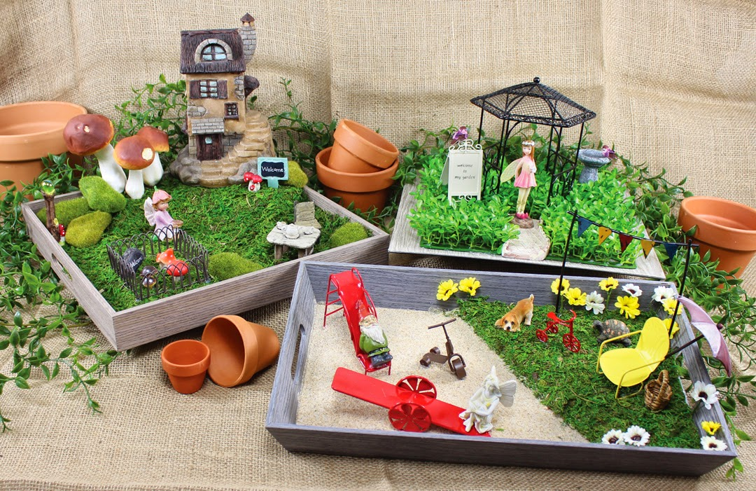 Crafts Direct Blog: Fairy Garden Supplies Are On Sale