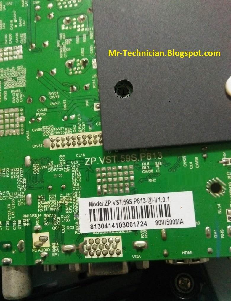TP VST59S P813 Triple LED TV Board Software Free Download
