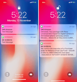 iPhone X Email Notifications Clears when unlocked