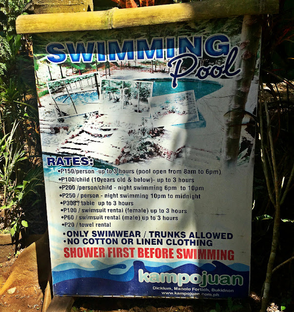 kampojuan swimming pool fee