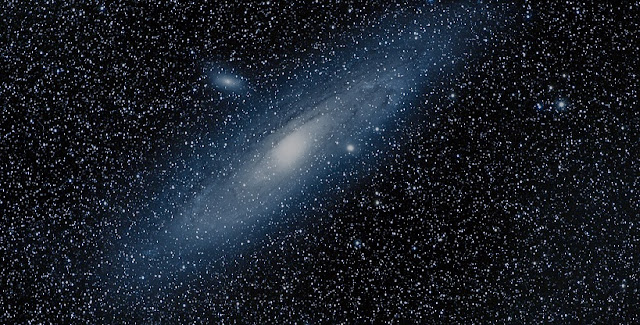 """""""Andromeda Galaxy"""" by Mr Rollboto is licensed under CC BY-NC-ND 2.0"""
