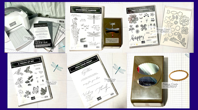 NigNew Stampin' Up! Mini Cut & Emboss Machine Unboxing Plus Preorder Products