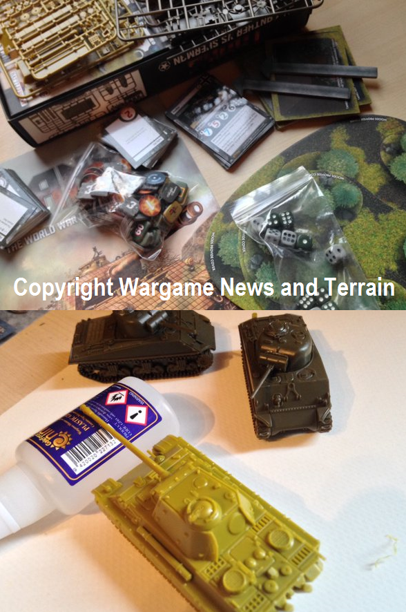 Gale Force Nine: New Tanks, World War Two Tank Warfare Miniature Game