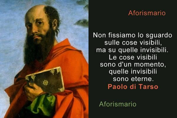 Aforismario: Frasi e citazioni dalle lettere di Paolo di Tarso