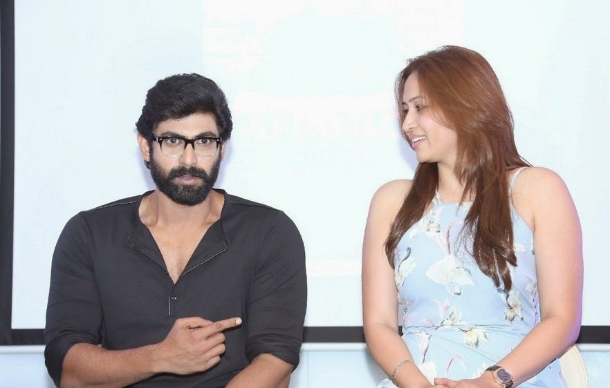 Jwala Gutta and Rana at Windsong Festival Curtain Raiser Event Pics
