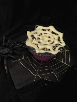 Cupcake telaraña