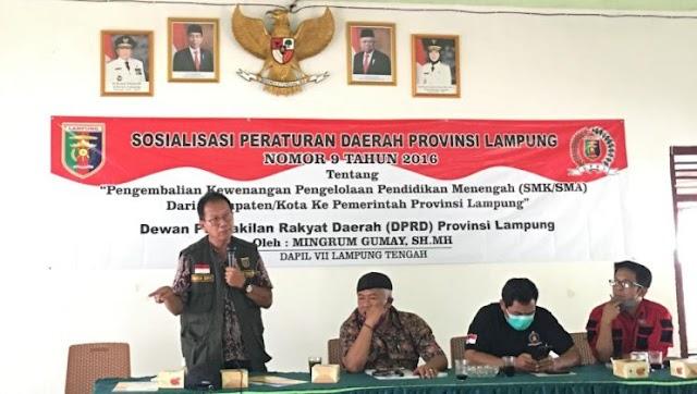 Ketua DPRD Lampung Rutin Ketemu Dengan Masyarakat