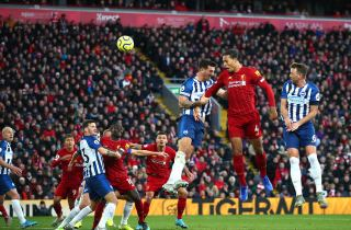 Video: Brighton 1-3 Liverpool : Mohamed Salah drive champions closer to record-points target