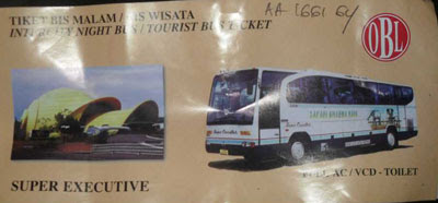 tiket bus safari dharma raya super executive