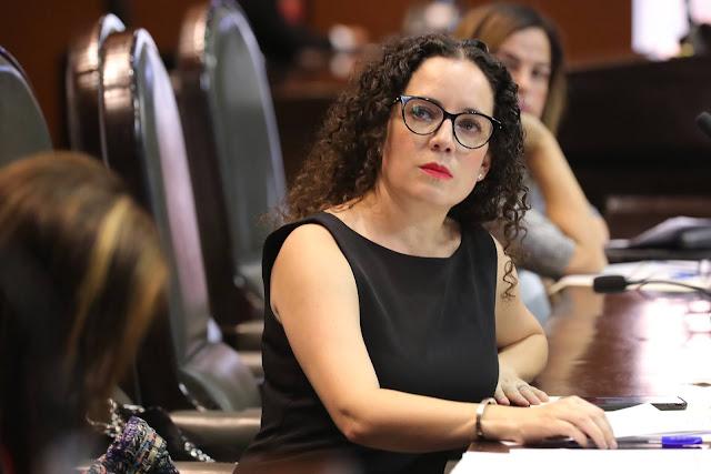 diputada Mariana Rodríguez Mier y Terán (PRI)