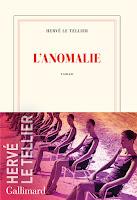 Hervé Le Tellier  anomalie Gallimard
