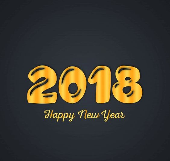 Happy New Year 2018 HD Facebook Profile Picture