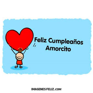 Feliz Cumpleaños Amorcito Corazón