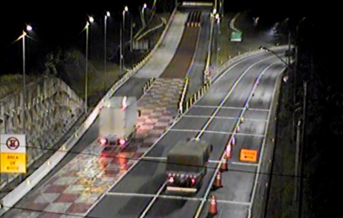 VÍDEO: Área de Escape na BR-376/PR salva três caminhoneiros em menos 24h