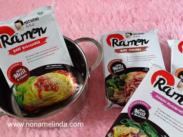 Michiyo Ramen, Tasty and Halal Ramen With Zero Trans Fat