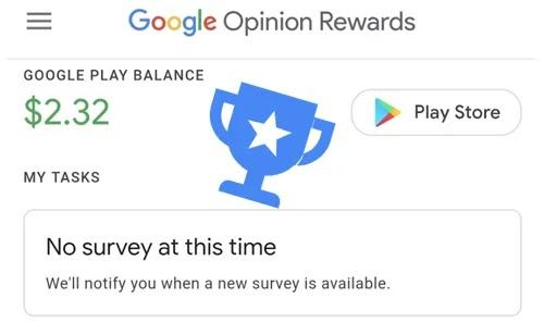 تطبيق Google Opinion لربح المكافآت